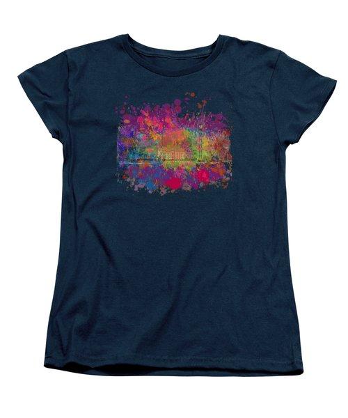 London Colour Women's T-Shirt (Standard Cut) by Dave H