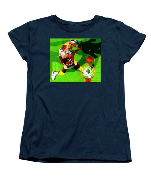 Magic And Bird Women's T-Shirt (Standard Cut) by Brian Reaves