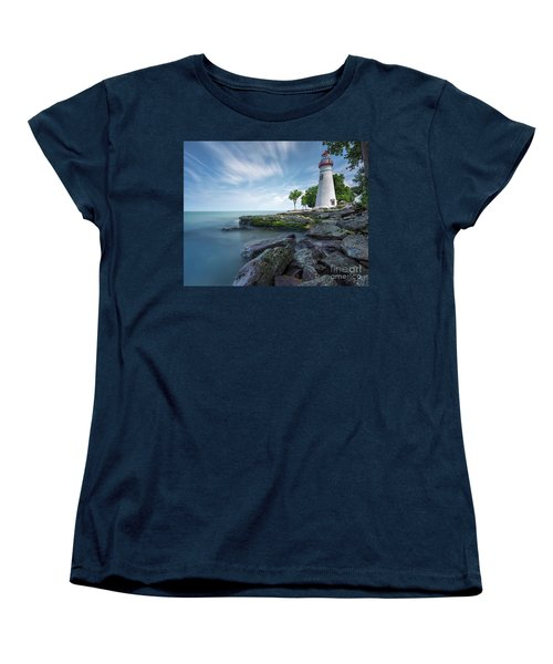 Marblehead Breeze Women's T-Shirt (Standard Cut) by James Dean