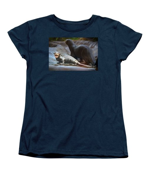 Moooommmmy Women's T-Shirt (Standard Cut) by Jamie Pham