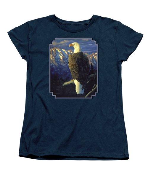 Morning Quest Women's T-Shirt (Standard Cut) by Crista Forest