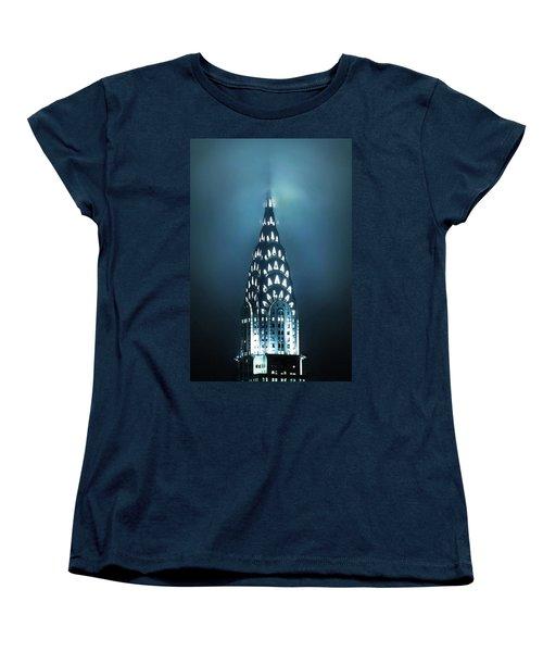 Mystical Spires Women's T-Shirt (Standard Cut) by Az Jackson