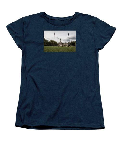 Old Main Penn State Wide Shot  Women's T-Shirt (Standard Cut) by John McGraw