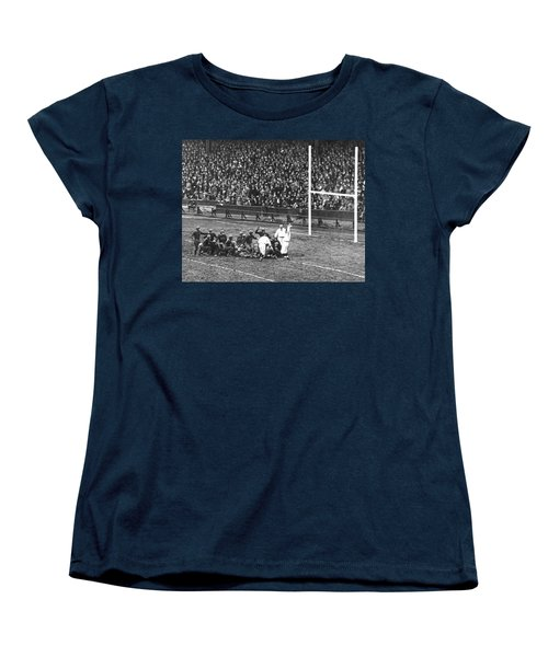 One For The Gipper Women's T-Shirt (Standard Cut) by Underwood Archives