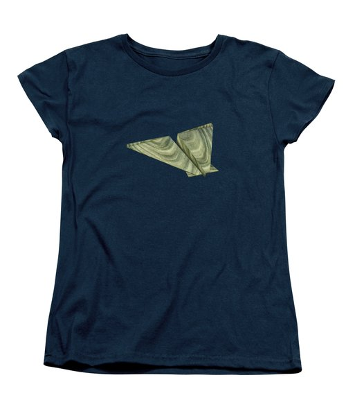Paper Airplanes Of Wood 19 Women's T-Shirt (Standard Cut) by YoPedro