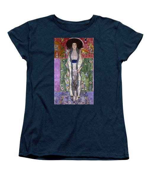Portrait Of Adele Bloch-bauer II Women's T-Shirt (Standard Cut) by Gustav Klimt