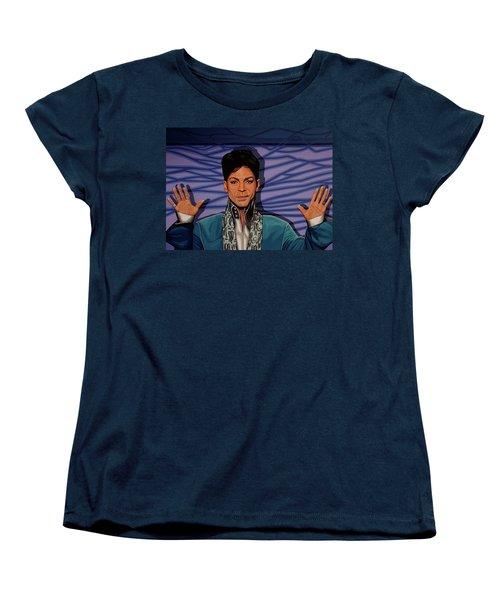 Prince Women's T-Shirt (Standard Cut) by Paul Meijering