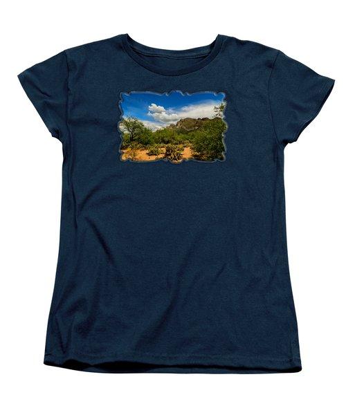 Pusch Ridge Vista H14 Women's T-Shirt (Standard Cut) by Mark Myhaver