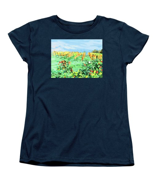 Roosthole Vineyard Women's T-Shirt (Standard Cut) by Plum Ovelgonne