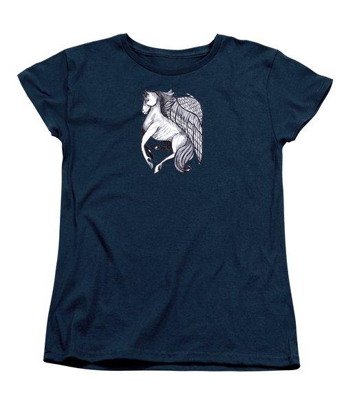 Save The Wild Mustangs Women's T-Shirt (Standard Cut) by Joanna Whitney