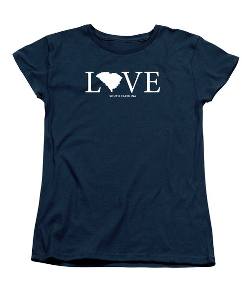 Sc Love Women's T-Shirt (Standard Cut) by Nancy Ingersoll