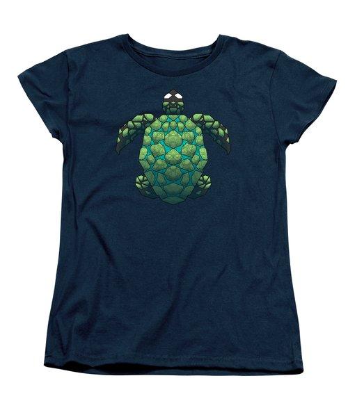 Sea Turtle Women's T-Shirt (Standard Cut) by Dusty Conley