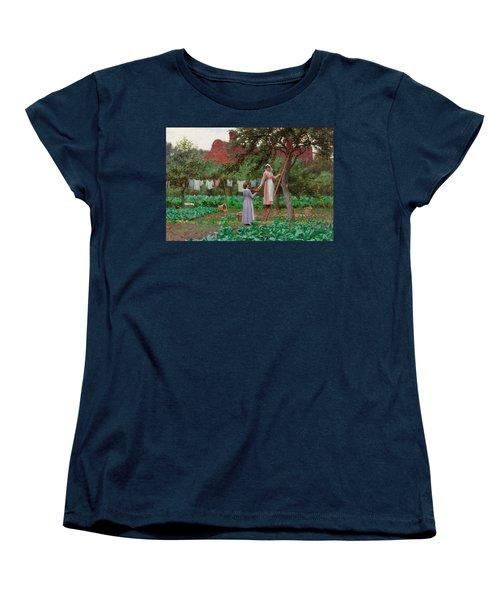 September Women's T-Shirt (Standard Cut) by Edmund Blair Leighton