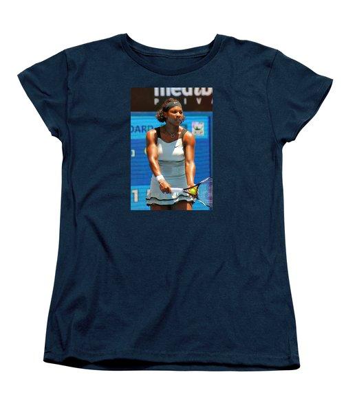 Serena Williams Women's T-Shirt (Standard Cut) by Andrei SKY