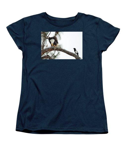 Share The Wealth Women's T-Shirt (Standard Cut) by Mike Dawson
