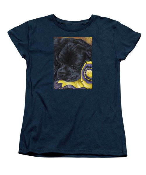 Sleepy Time Spader Women's T-Shirt (Standard Cut) by Gilda Goodwin