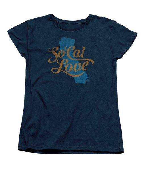 Socal Love Women's T-Shirt (Standard Cut) by Jason Richard
