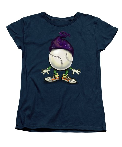 Softball Wizard Women's T-Shirt (Standard Cut) by Kevin Middleton