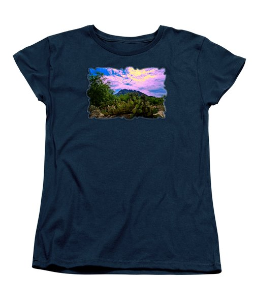 Sonoran Morning H54 Women's T-Shirt (Standard Cut) by Mark Myhaver