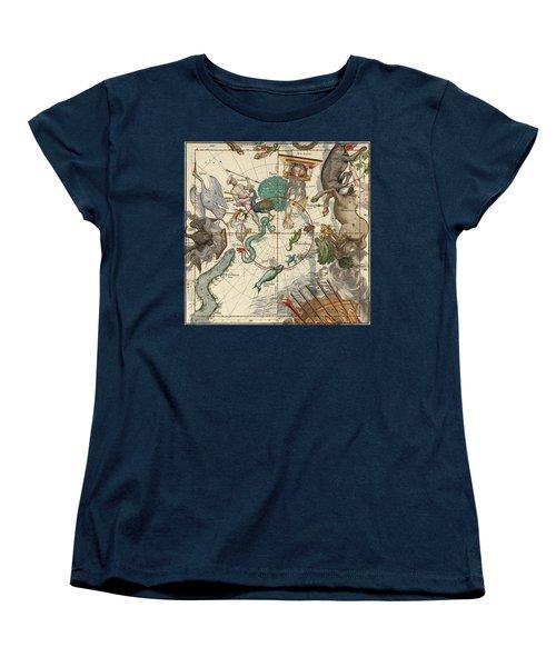 South Pole Women's T-Shirt (Standard Cut) by Ignace-Gaston Pardies