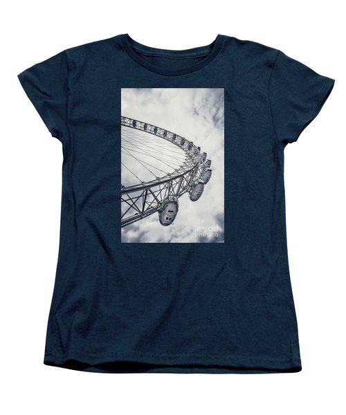 Spin Me Around Women's T-Shirt (Standard Cut) by Evelina Kremsdorf