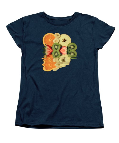 Split Reflections Women's T-Shirt (Standard Cut) by Shane Bechler
