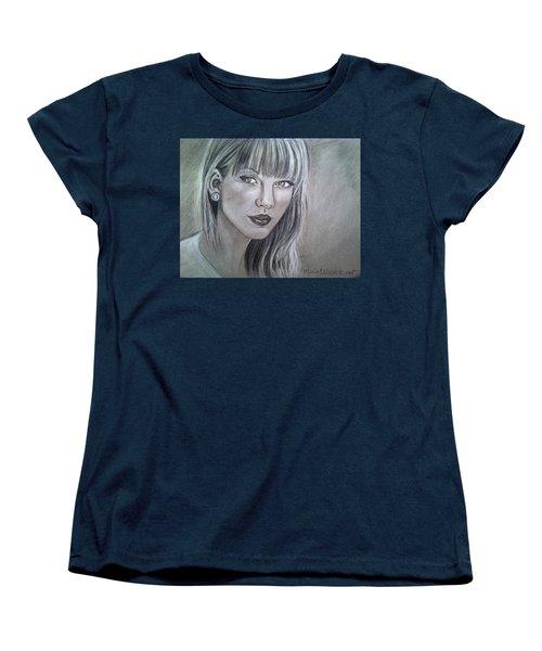 Stay Beautiful Women's T-Shirt (Standard Cut) by Maria Ferrante
