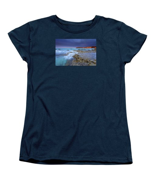 Storm Light Women's T-Shirt (Standard Cut) by Mike  Dawson