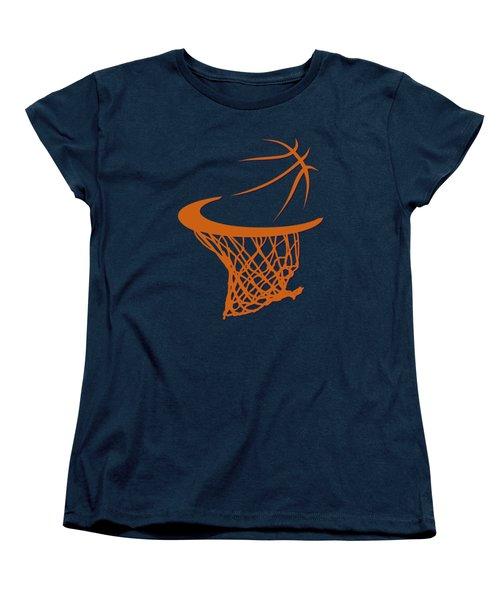Suns Basketball Hoop Women's T-Shirt (Standard Cut) by Joe Hamilton