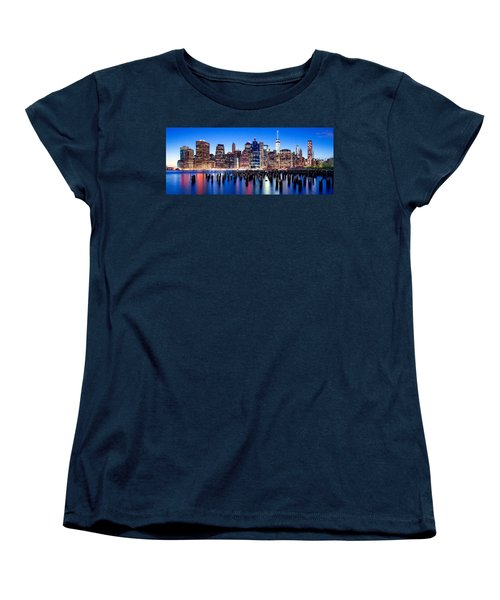 Magic Manhattan Women's T-Shirt (Standard Cut) by Az Jackson