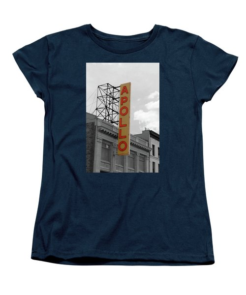 The Apollo In Harlem Women's T-Shirt (Standard Cut) by Danny Thomas
