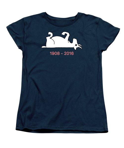 The Goat Is Dead Women's T-Shirt (Standard Cut) by Larry Scarborough