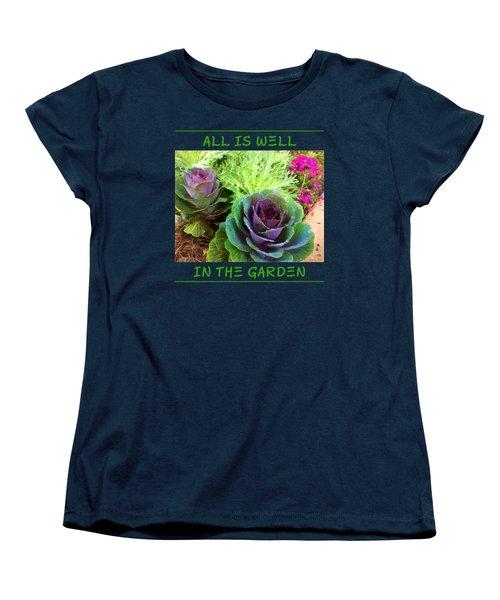 The Healing Garden Women's T-Shirt (Standard Cut) by Korrine Holt