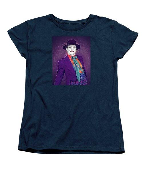 The Joker Women's T-Shirt (Standard Cut) by Taylan Apukovska