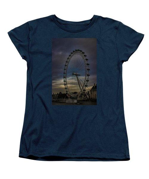 The London Eye Women's T-Shirt (Standard Cut) by Martin Newman