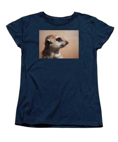 The Meerkat Da Women's T-Shirt (Standard Cut) by Ernie Echols