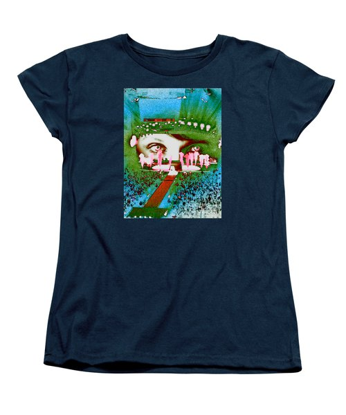 Through The Eyes Of Taylor Women's T-Shirt (Standard Cut) by Kim Peto