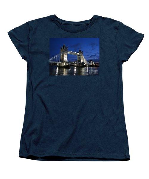 Tower Bridge Women's T-Shirt (Standard Cut) by Amanda Barcon