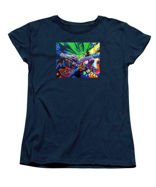 Trey Anastasio 4 Women's T-Shirt (Standard Cut) by Kevin J Cooper Artwork