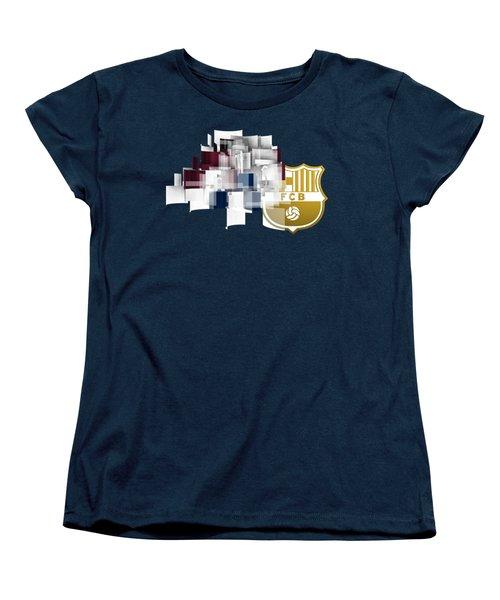 Tribute To Fc Barcelona 6 Women's T-Shirt (Standard Cut) by Alberto RuiZ