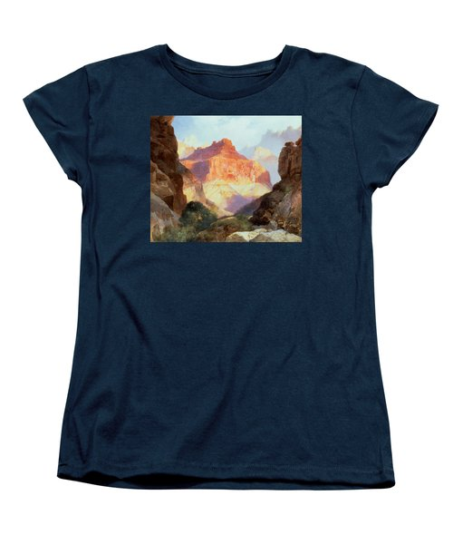 Under The Red Wall Women's T-Shirt (Standard Cut) by Thomas Moran