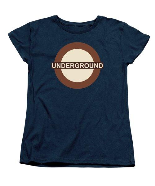 Underground75 Women's T-Shirt (Standard Cut) by Saad Hasnain