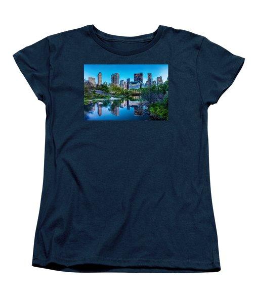 Urban Oasis Women's T-Shirt (Standard Cut) by Az Jackson