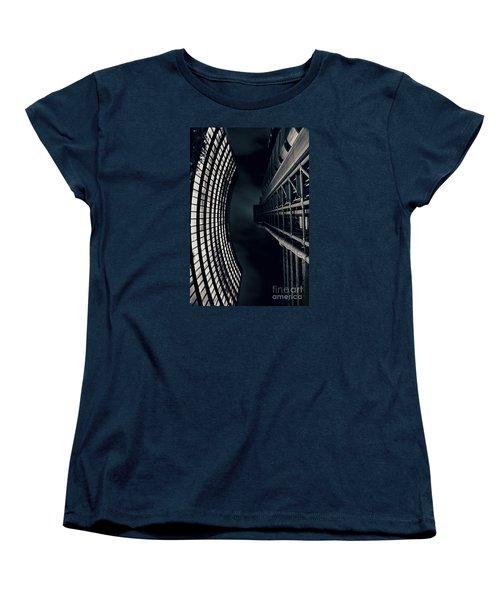 Vertigo I Women's T-Shirt (Standard Cut) by Jasna Buncic