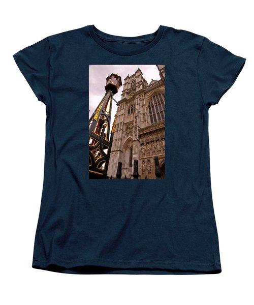 Westminster Abbey London England Women's T-Shirt (Standard Cut) by Jon Berghoff