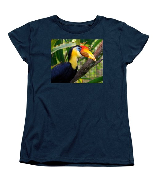 Wrinkled Hornbill Women's T-Shirt (Standard Cut) by Susanne Van Hulst