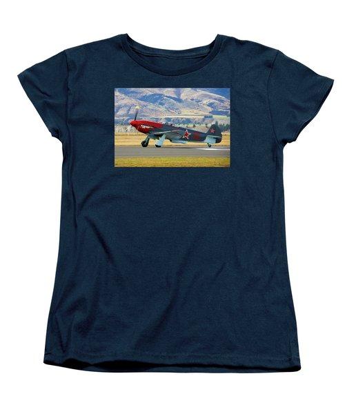 Yakovlev Yak 3-m Women's T-Shirt (Standard Cut) by Bernard Spragg