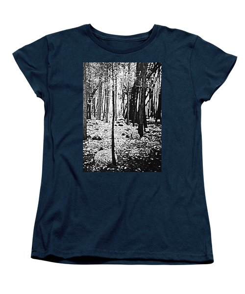 Yosemite National Park Women's T-Shirt (Standard Cut) by Debra Lynch