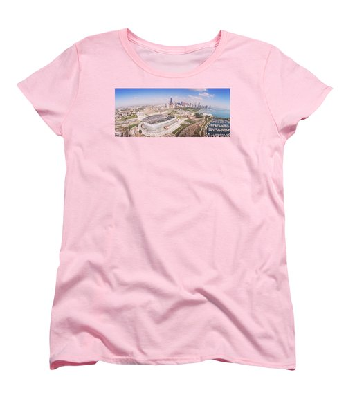 Aerial View Of A Stadium, Soldier Women's T-Shirt (Standard Cut) by Panoramic Images