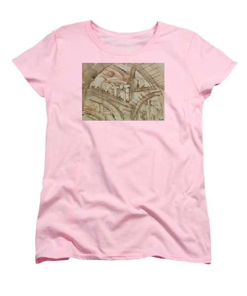 Drawing Of An Imaginary Prison Women's T-Shirt (Standard Cut) by Giovanni Battista Piranesi